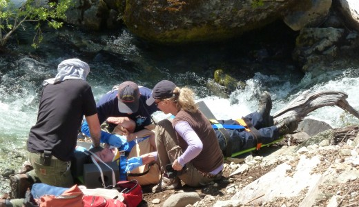Wilderness Medicine Institute Classes at Opal Creek